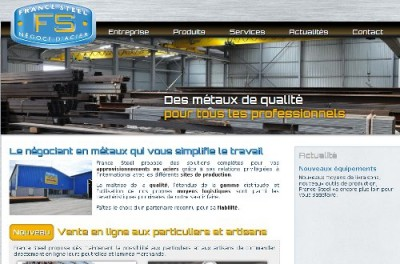 creation site web France Steel
