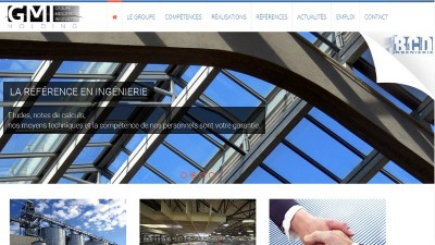 creation site web GMI Groupe