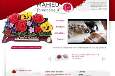 creation site web Mahieu