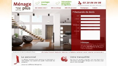 creation site web Ménage Plus
