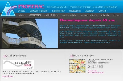 creation site web Promerac
