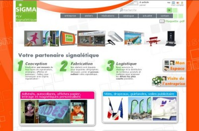 creation site web Sigma Signalisation