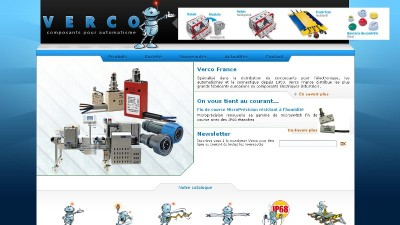 creation site web Verco France