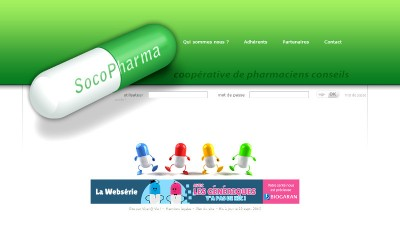 creation site web Socopharma