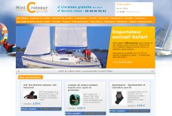 Un site e-commerce pour acheter son bateau et l'équiper entièrement