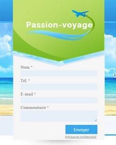 site pas cher: passion voyages, le site de Katia