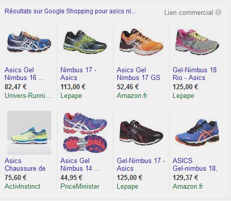 Google shopping détourné par les e-marchands
